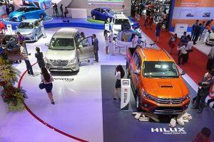 Các loại ô tô nhập khẩu từ thái lan