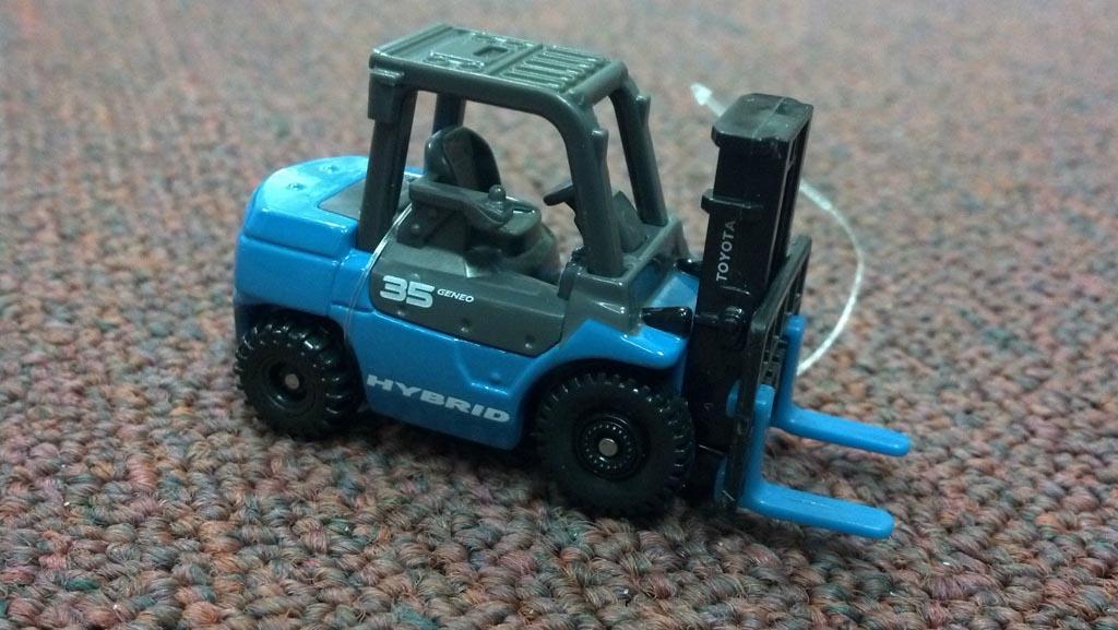 Kết cấu và đặc điểm mô hình xe nâng hàng