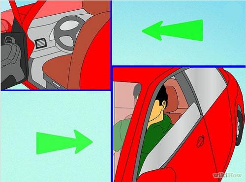 Chuẩn bị trước khi lái