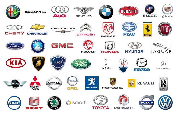 Full LOGO hãng xe ô tô nổi tiếng trên thế giới bạn có biết