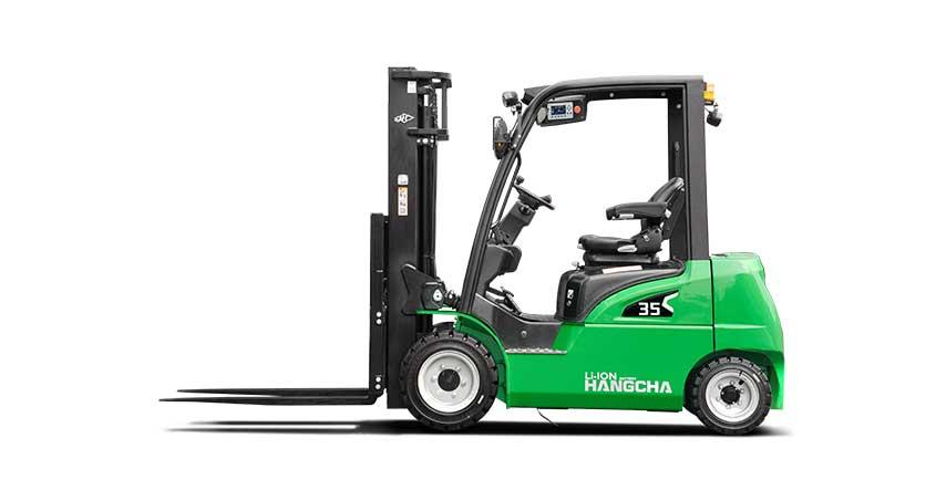 Xe nâng điện 4 bánh XC series lithium 1.5-3.5 tấn