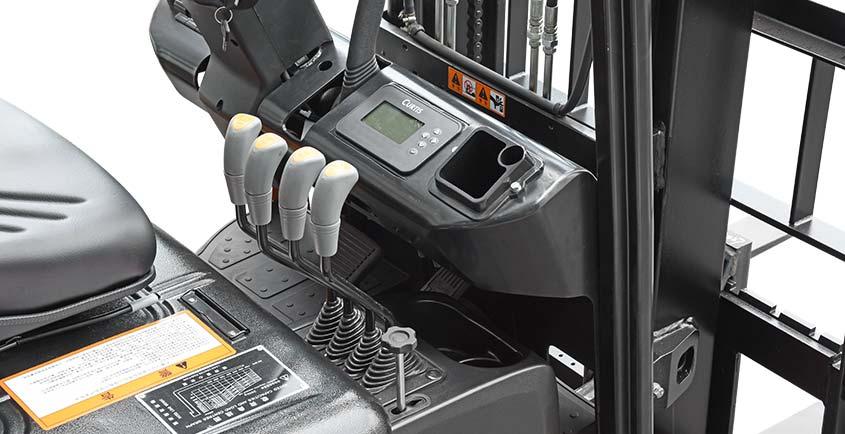 Xe nâng điện 3 bánh Jseries 1.5 tấn