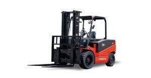 Xe nâng điện 4 bánh Jseries 5-8,5 tấn